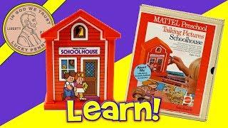 Mattel Preschool Talking Picture School House Vintage Toy
