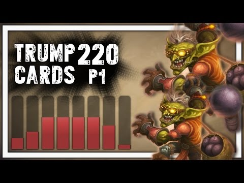 Hearthstone: Trump Cards - 220 - Lobbing Bombs at Fools - Part 1 (Rogue Arena)