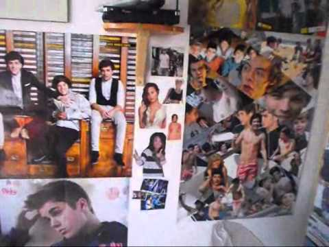 One Direction Room tour. ♥