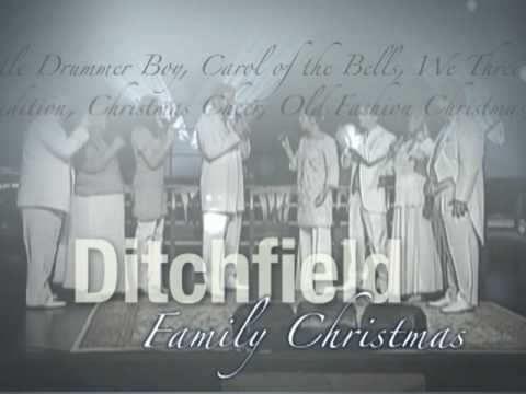 Ditchfield Family Singers Christmas Concert