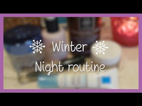 ♡ My winter night skincare routine! Βραδινή περιποίηση προσώπου ♡