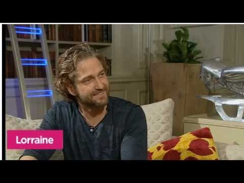 Lorraine Kelly Interviews Gerard Butler for Coriolanus