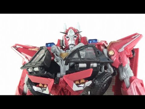Video Review of the Transformers 3 Dark of the Moon (DOTM); Leader Class Sentinel Prime