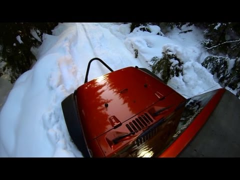 Jeep Off Road Movies - Snow Jeep 2013