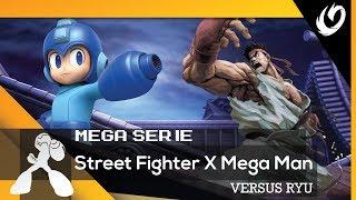 VERSUS RYU | STREET FIGHTER X MEGA MAN