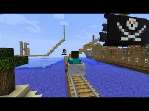 Epic Minecraft Rollercoaster