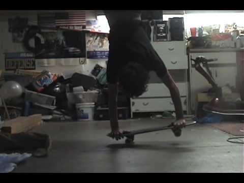 Harder freestyle tricks.