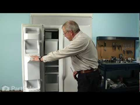 Refrigerator Repair - Replacing the Evaporator Fan Motor (Whirlpool Part # 4389144)