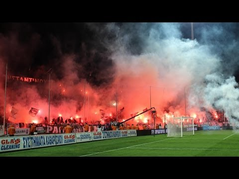 PAOK 2:1 Olympiakos 09.03.2014 Gate 4 Music Videos
