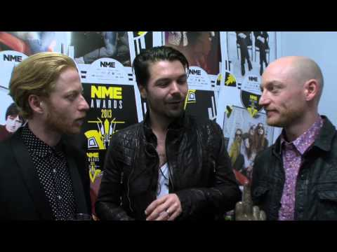 Biffy Clyro On Winning Best British Band - NME Awards 2013 Backstage