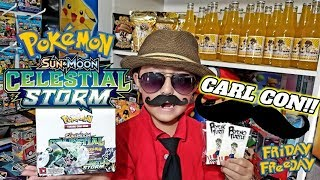 LETS GO TO CARL CON!! EARLY NEW POKEMON CARDS! CELESTIAL STORM & MORE!! STEP ASIDE COMIC CON! FF #78