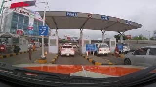 Xe cứu thương FMP bị nhân viên trạm thu phí sân bay làm khó dễ? Ambulance was bothered at tollbooth