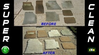 How To Deep Clean Your Car's Floor Mats! (LIKE NEW)