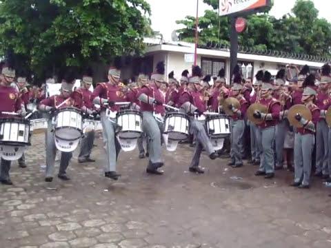 Coruña Marching Band Linea de Percusión 2010. El Salvador