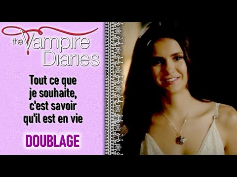 The Vampire Diaries 3x01 - I just want to know he's alive (French Fandub by Michiyo & Erika)