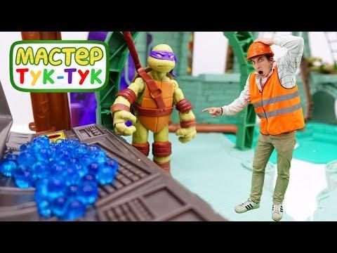 Видео с игрушками - Тук-Тук Шоу 10 серия -  Компьютер в лимонаде