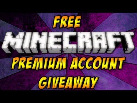 Free Premium Minecraft Account Giveaway