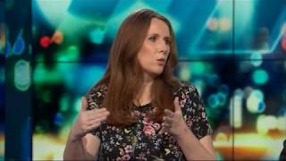 UK comedian Catherine Tate in New Zealand | The Project NZ