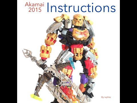 Ixphia's MOC Akamai with instructions