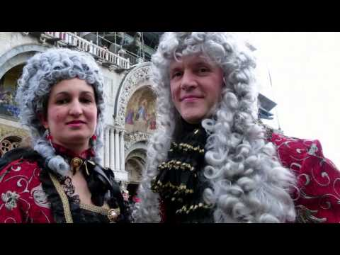 CARNEVALE DI VENEZIA 2014  le maschere più belle - the best masks Carnival Of Venice - HD