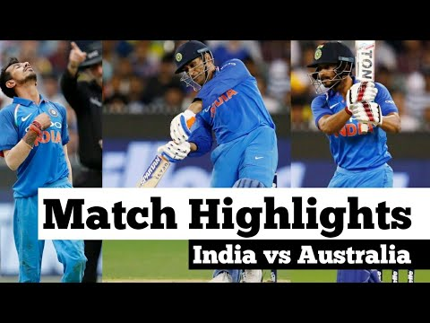 India vs Australia 2nd odi match highlights | India vs Australia 2nd one day full match highlights |