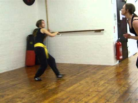 Jen+Christine Shadow Sparring-Box Drill FMA Eskrima Kali Arnis Kickfit Martial Arts,Nottingham,UK Image 1