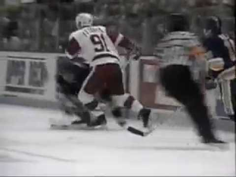 Ice Hockey Goals, Hits and Saves