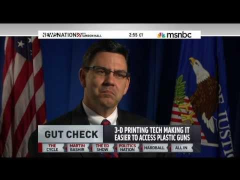 Lawmakers Seek To Extend Ban On 3D GUNS