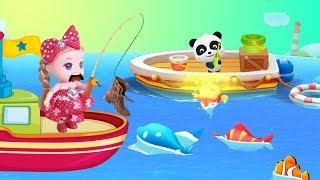 Giant Na Baby Fish With Baby Bear Game Kids