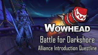 Battle for Darkshore - Alliance Introduction Questline