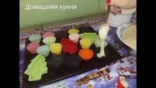 Кексы в формочках домашний рецепт