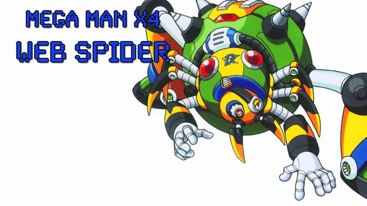 Web Spider Megaman Mega Man x4 Web Spider Ost