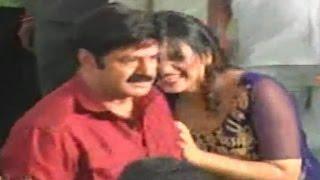 Hot Actress Anjali Tight Hug to Balayya at Dictator Movie Set Exclusive