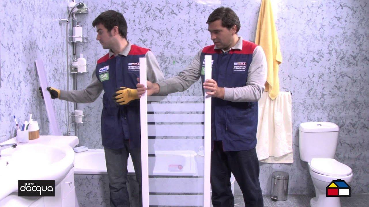 C mo armar e instalar tu mampara de ducha 126 x 140 cm - Instalar mampara de ducha ...