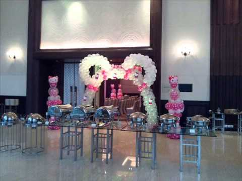 Hello kitty thematic decoration by Buddysbirthdayplanner Lahore Pakistan