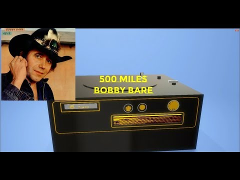 500 Miles Away From Home ~ Bobby Bare ~ With Lyrics