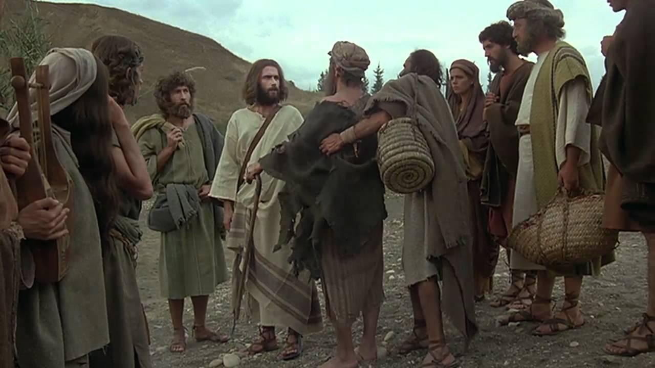 Jesus English Healing Of The Blind Beggar Bartimaeus