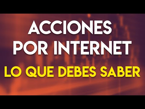 Consejos antes de invertir en acciones por internet