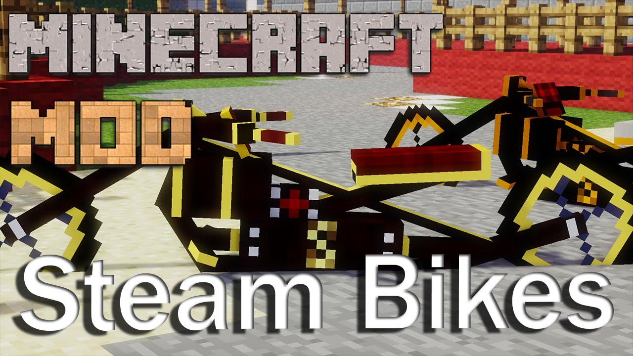 Bikes Mod 1.7.10 Bikes Mod ITA