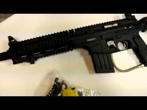 US Army Project Salvo Paintball Gun - Black TPN SIERRA ONE