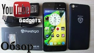 Prestigio MultiPhone 5470 Grace X5 DUO Обзор смартфона
