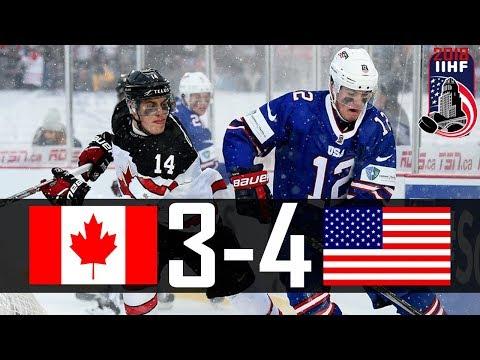 Canada vs USA | 2018 WJC Highlights | Dec. 29, 2017