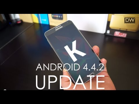 Samsung Galaxy Note 3 Kitkat 4.4.2 Official Update: Whats New? video