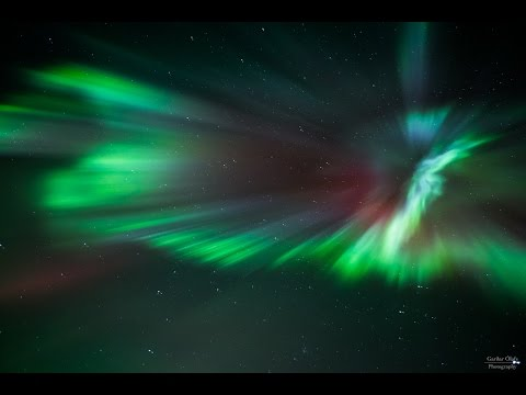 Real Time Video of Aurora Borealis 27.08.2015
