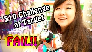 TOY HUNTING $10 Challenge at Target FAIL!! - Disney Tsum Tsums, Shopkins, LPS and Christmas!