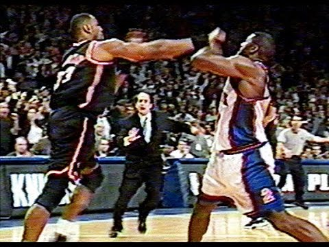 1998 NBA Playoffs ECR1 Game 4 - Heat vs Knicks - Final minutes