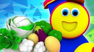 Vegetable Train | Learning videos For Toddlers by Bob The Train
