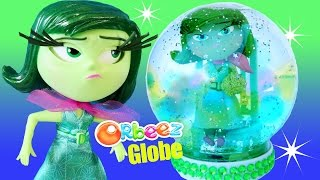 DISGUST GLITTER GLOBE ORBEEZ InsideOut Green Broccoli Gems Toys How-to Make