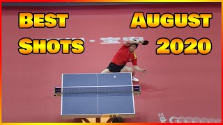 Best Table Tennis Shots of august 2020