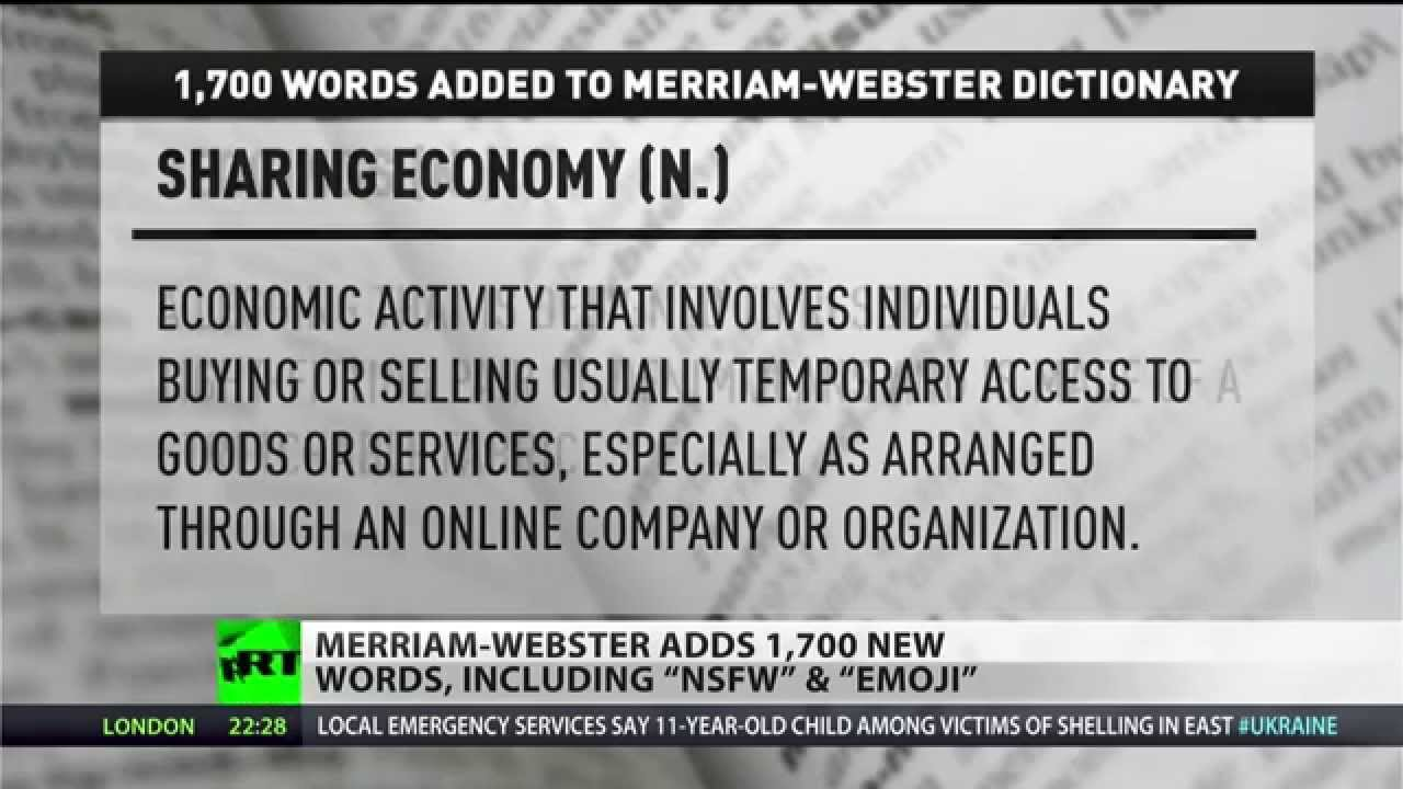 'Emoji,' 'Jeggings,' and 'NSFW' added to new edition of Webster's Dictionary
